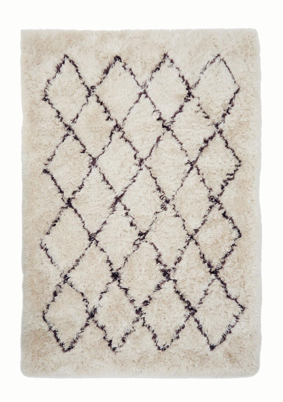 Diagonal Berber Rug