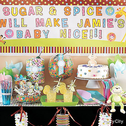 Baby Shower Candy Buffet Ideas  Party City-4835