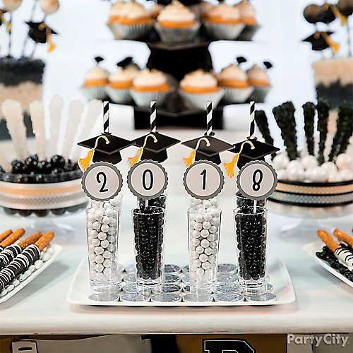 Classy Grad Treat Table Ideas Party City