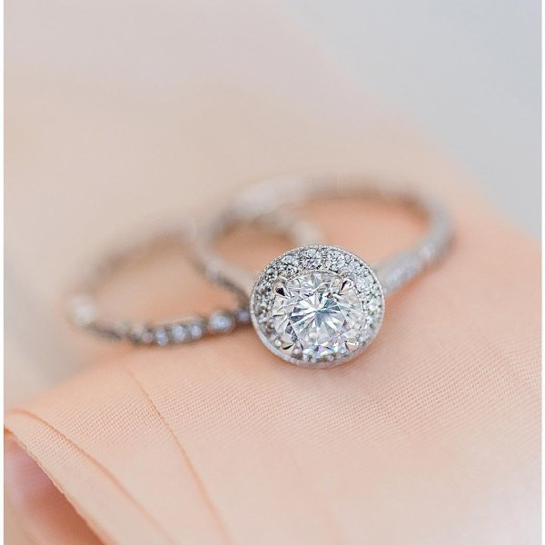 today is the day for love simple rings ajaffe photo - Designer Wedding Rings