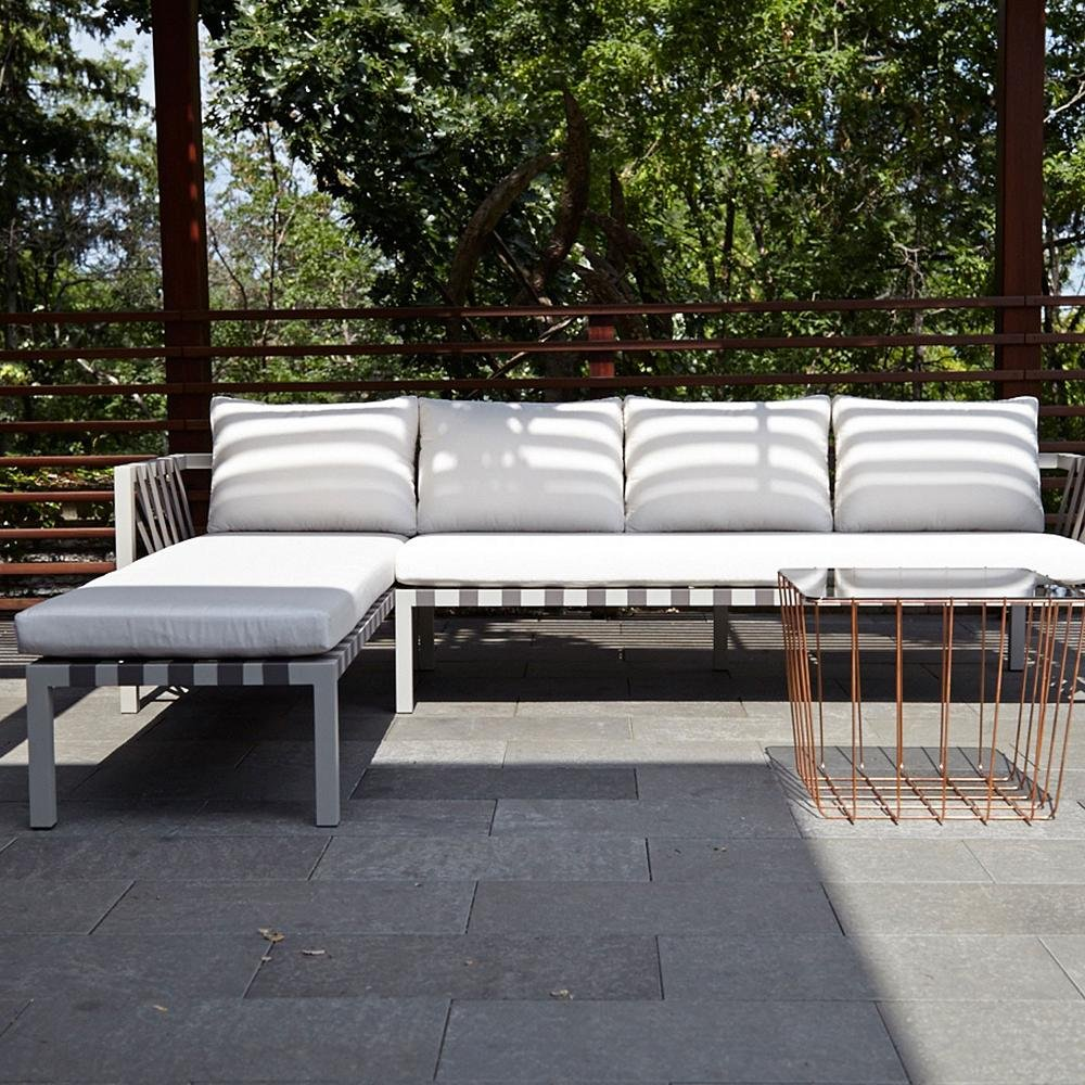 Curated image with jibe outdoor sectional sofa by blu dot scamp table by blu dot
