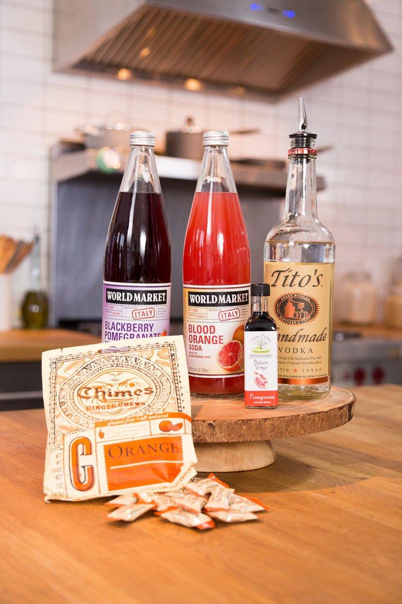 Pomegranate Orange Vodka Cocktail with Mint Recipe - Discover, A World Market Blog
