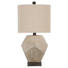 Shop Wallace Gray Table Lamp and more