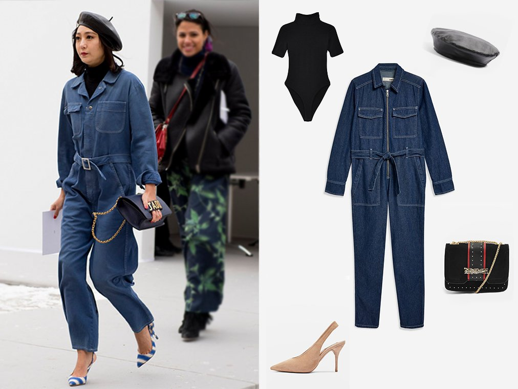 How To Wear The Boiler Suit Like A Street Style Star Topshop Blog