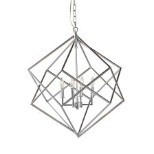 Shop Ashlee Silver Chandelier and more