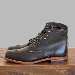 296a415d0fa Men - Addison 1000 Mile Wingtip Boot - Vintage Boots | Wolverine