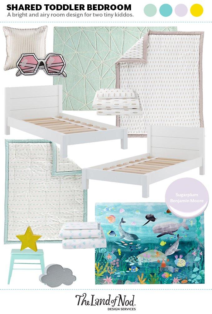 Toddler Bedroom Moodboard