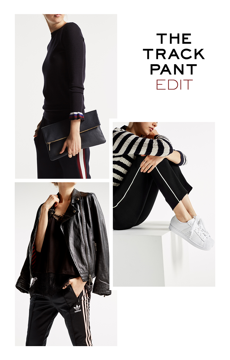 Ways to wear the track pant - from Label