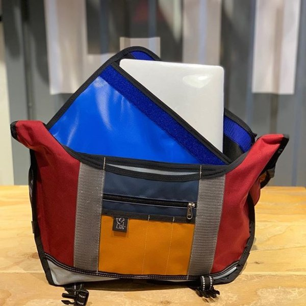 04ef20903ea2 Come by to get that special someone a custom made bag! Our sewer can make  them that special made with love Chrome bag. She s also got some custom  made ...
