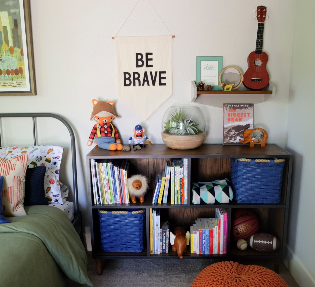 Kids Room Makeovers: Boho Nursery & Boys Room