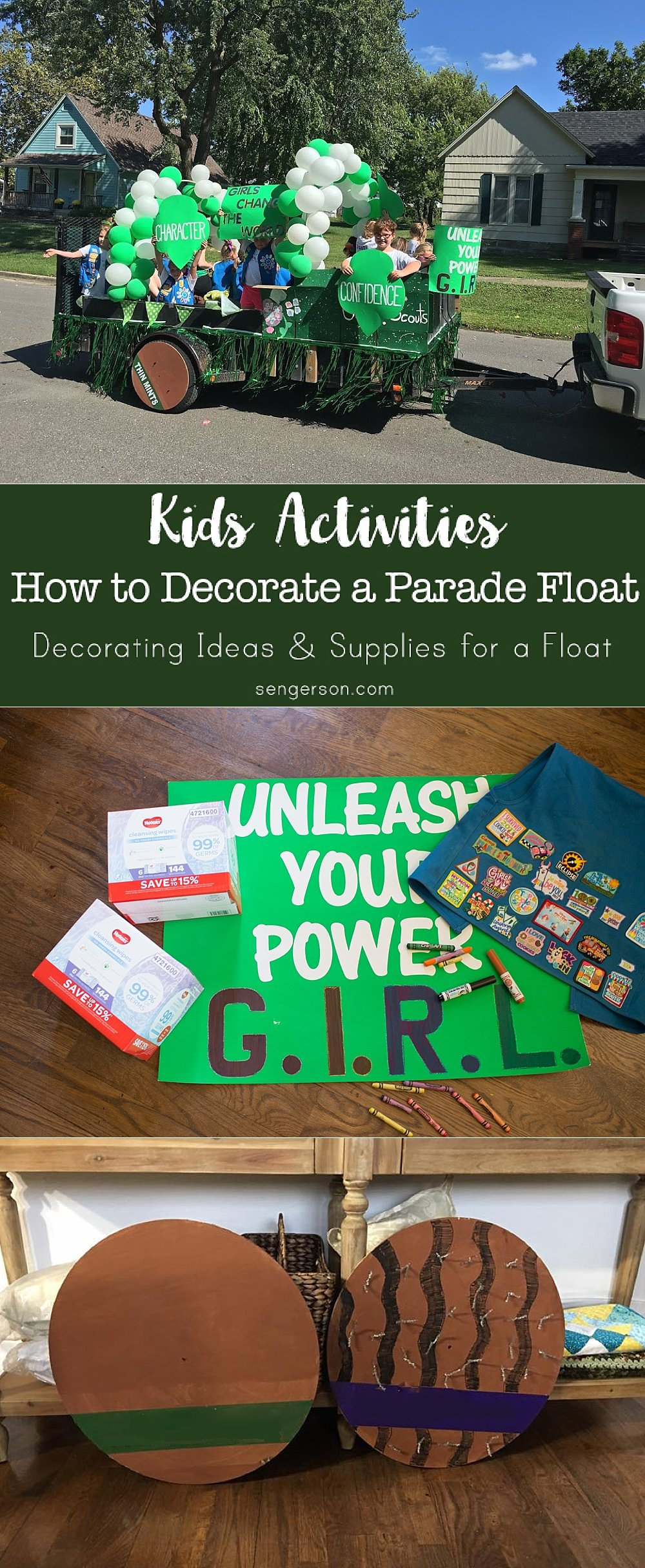 How To Decorate A Parade Float