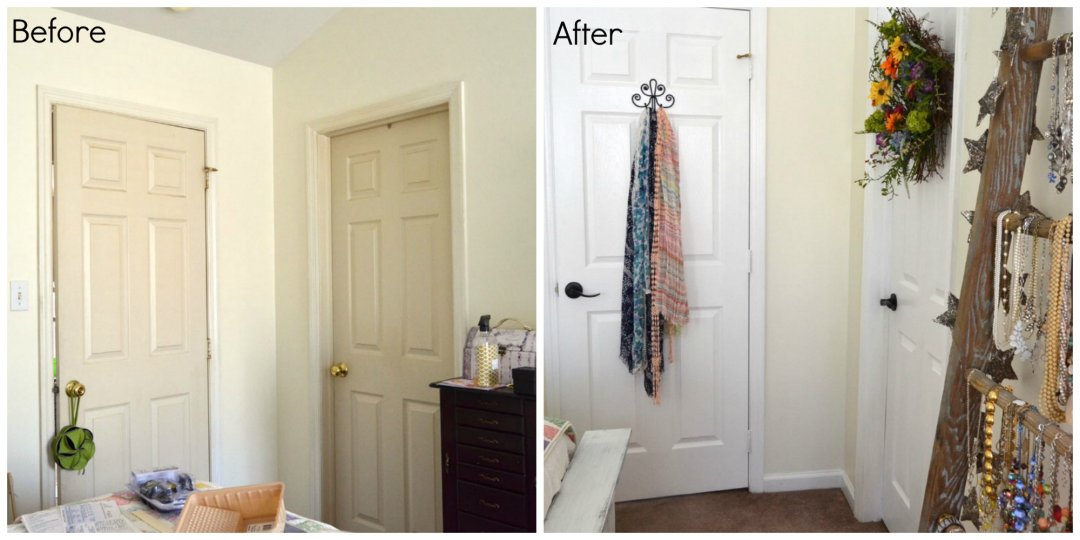 paint interior doorsTips for Painting Interior Doors and Trim  Create and Babble