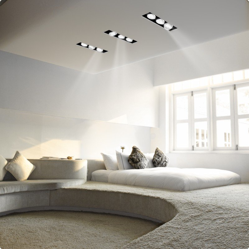 Shop Zaneen - Invisibili Adjustable 3 Light LED Recessed Lighting Kit and more