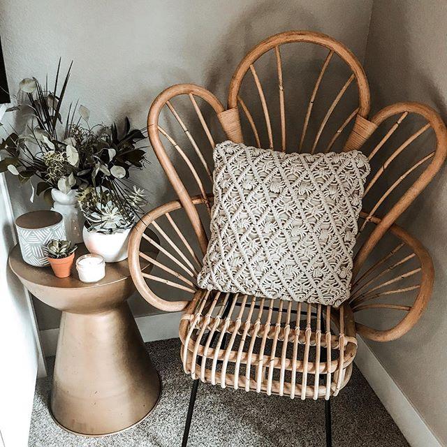 Peacock Cane Chair