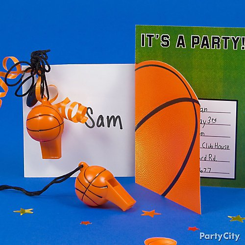 basketball party ideas party city