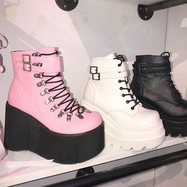 4edb1f5a723d The  DEMONIA boots we wear 24 7 tbh 👀👅👢