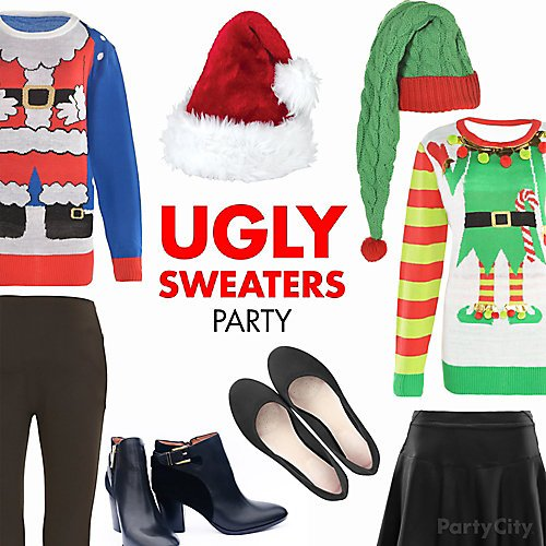 3ff8cb40 Curated image with Adult Santa Suit Ugly Christmas Sweater - Size - S/M, ...