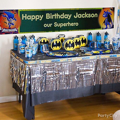Batman Party Ideas Party City
