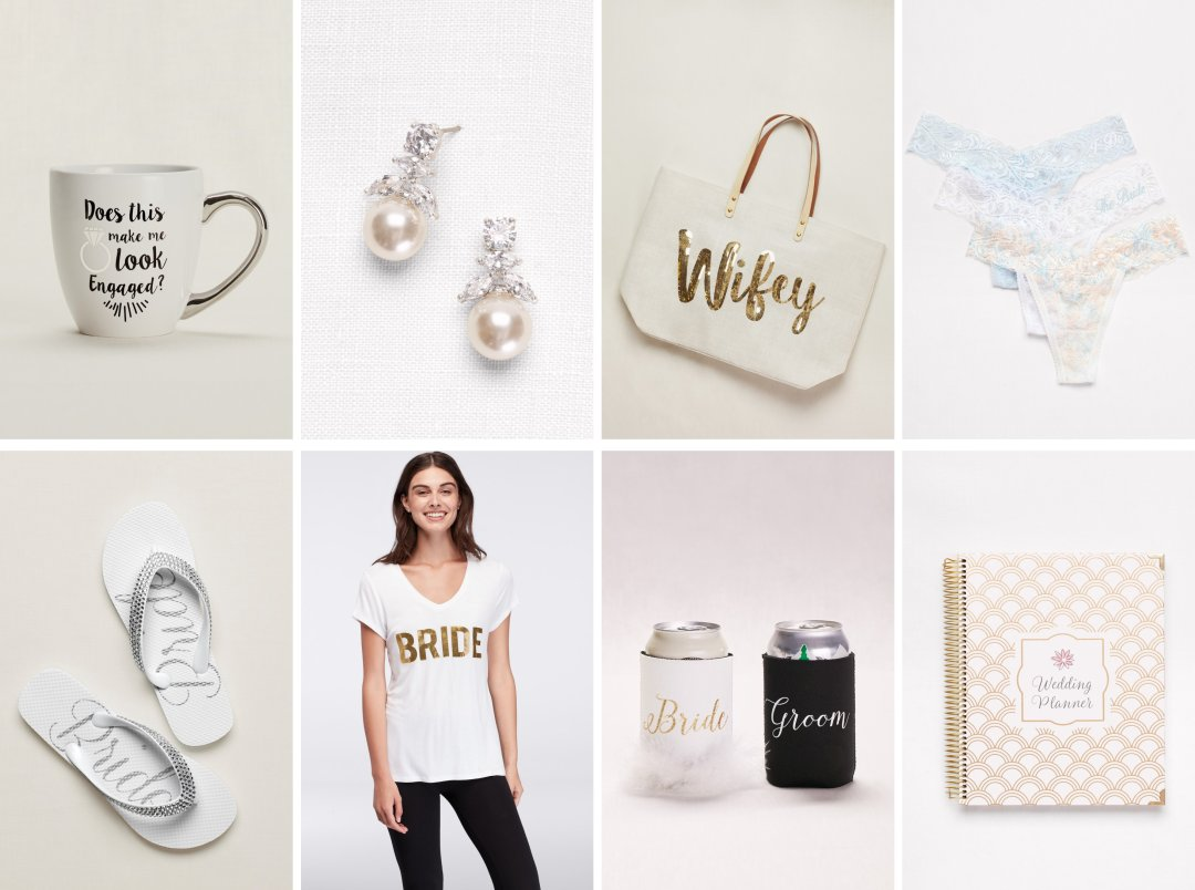The Bride To Be Gift Guide David S Bridal Blog