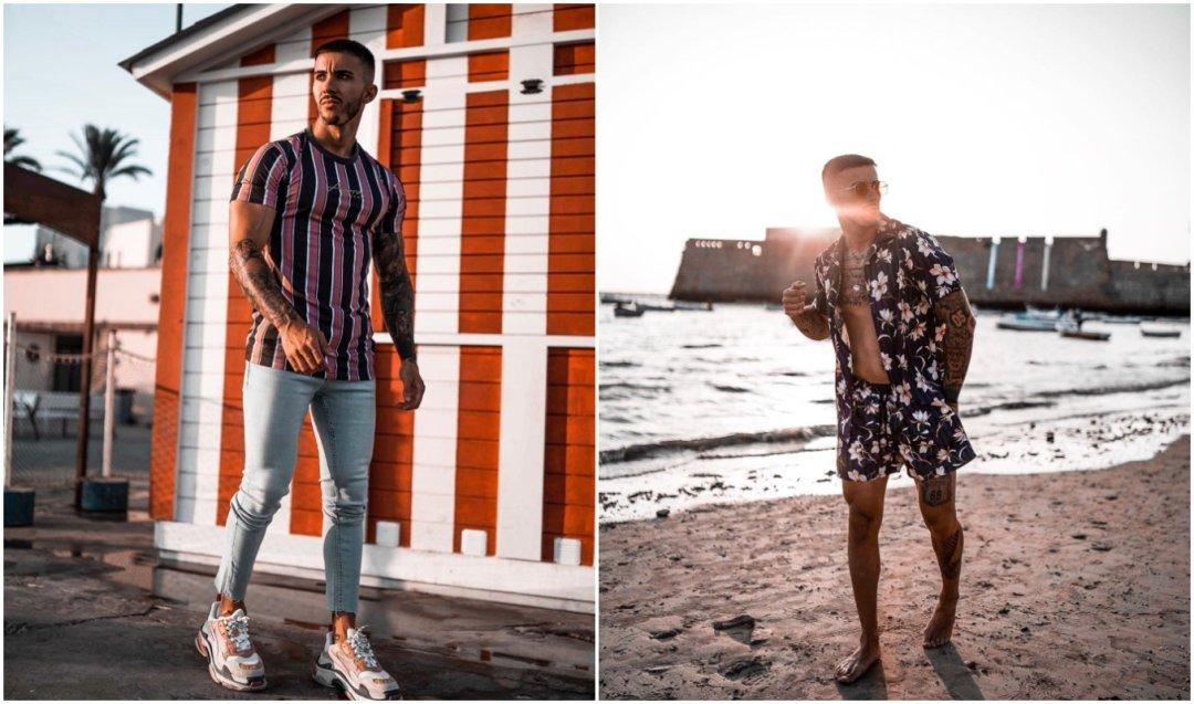 Outfits urbanos y coloridos de @victorperexx