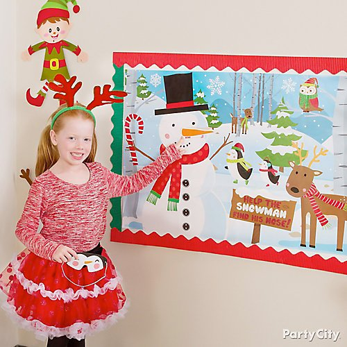 Christmas Decoratio Party City: Snowman Theme Holiday Decorating Ideas