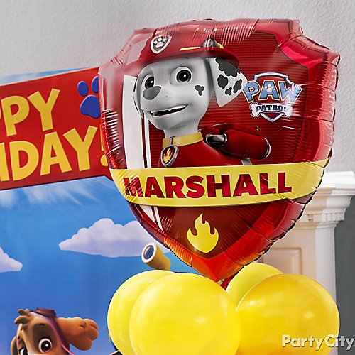Excellent Paw Patrol Party Ideas Party City Download Free Architecture Designs Scobabritishbridgeorg