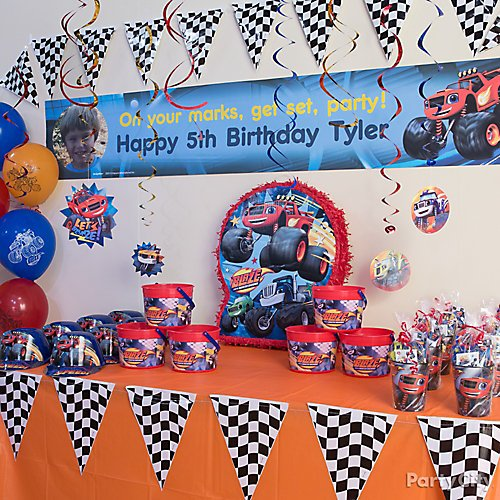 Blaze And The Monster Machines Party Idea