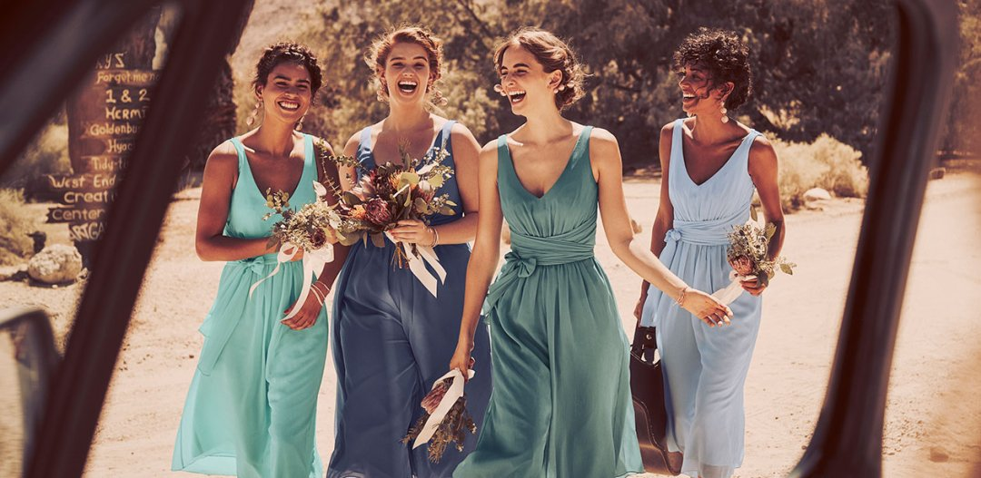 Wedding color ideas inspiration davids bridal junglespirit Gallery