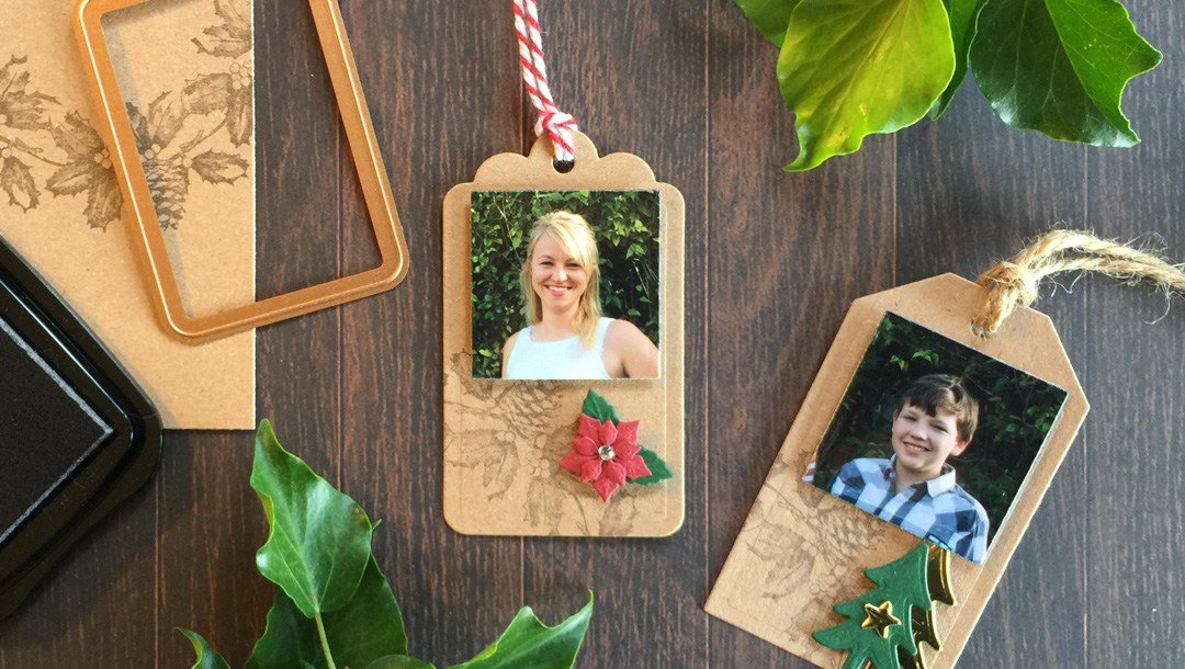 Easy Festive Gift Tags by Christine Emberson Pic 1