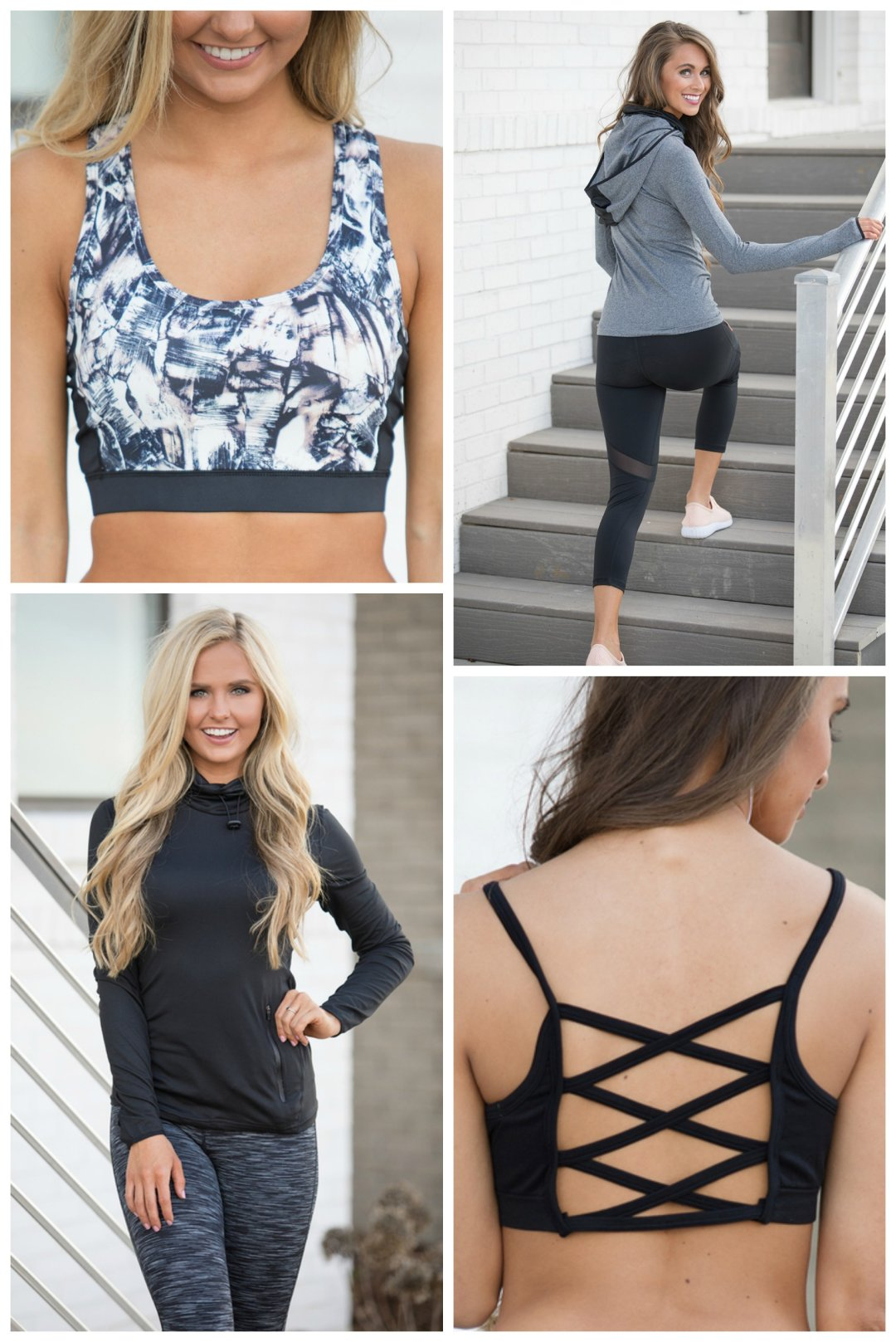 Workout Tops & Sports Bras