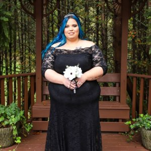 71e8cb72eb3 Four months ago I married my soulmate! Thank you  torridfashion for this  amazing dress