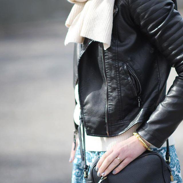 c01ec45cb956d Women's Faux Leather Moto Jacket - Xhilaration : Target Finds