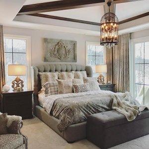 Mariah Tufted Bed | Arhaus Furniture