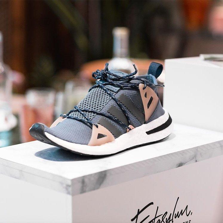 half off 372cb c3ab3 adidas Originals Womens Arkyn Trainer - Blue - Size - 4