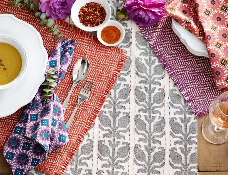 Mix and Match Table Linen Patterns and Colors Like a Pro - Discover, A World Market Blog