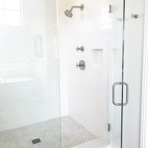 Theres Something So Refreshing About A Bright White Bathroom To Embark