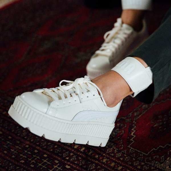 puma fenty creepers clear