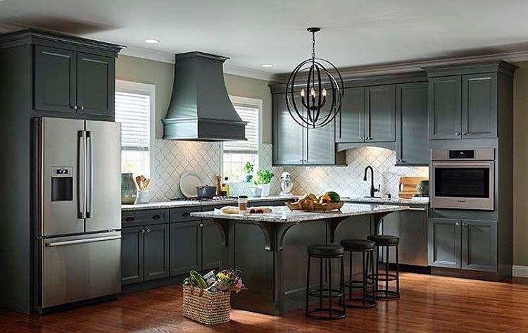 Schuler Kitchen Cabinets Distressed