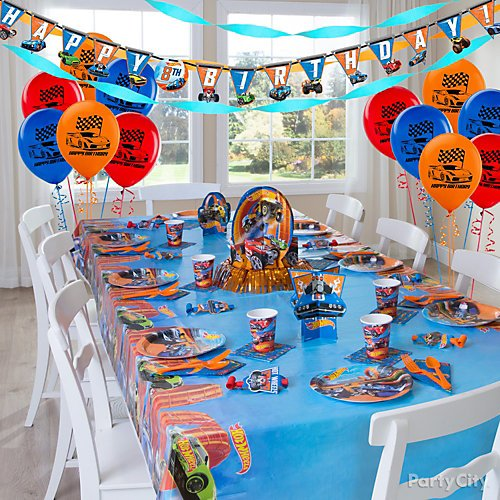 Hot Wheels Party Ideas Party City