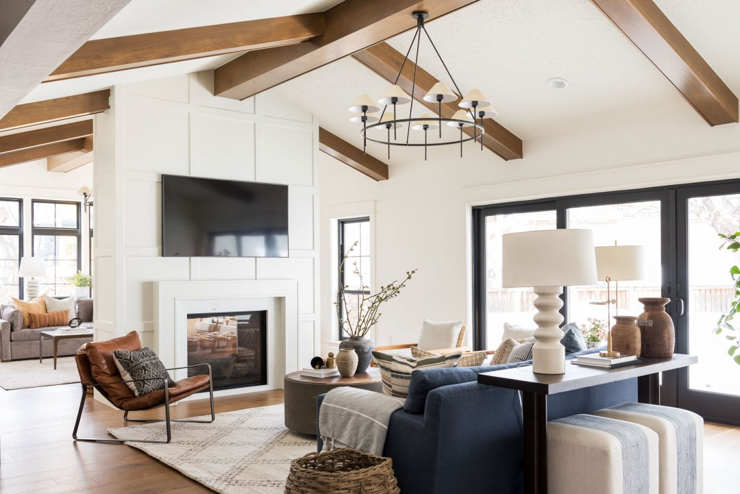Studio McGee designed living room