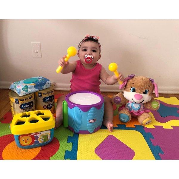 baby & Infant Developmental Toy Sophie La Girafe® Musical Keys Rattle & Teether Baby