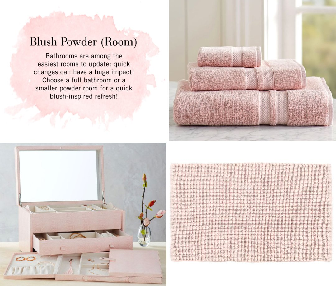Ring Around The Ros 233 Blush The Color Of Love Pottery Barn