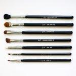 sigma eyeshadow brushes. definitely getting a lot of use out this set. #sigma #sigmabrushes # sigma eyeshadow brushes b
