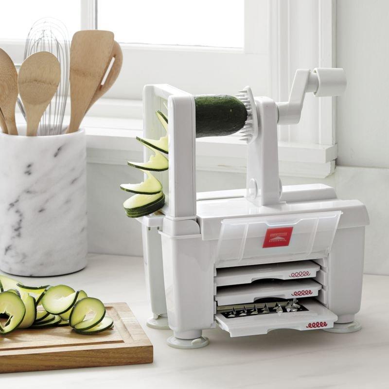 Modern wedding registry ideas crate and barrel blog for Zoodles kitchen set