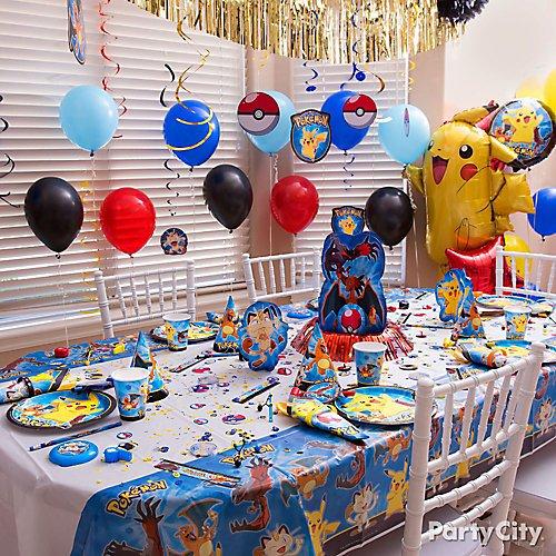 Pokemon Party Ideas Party City