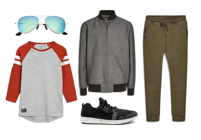athleisure outfit for boys