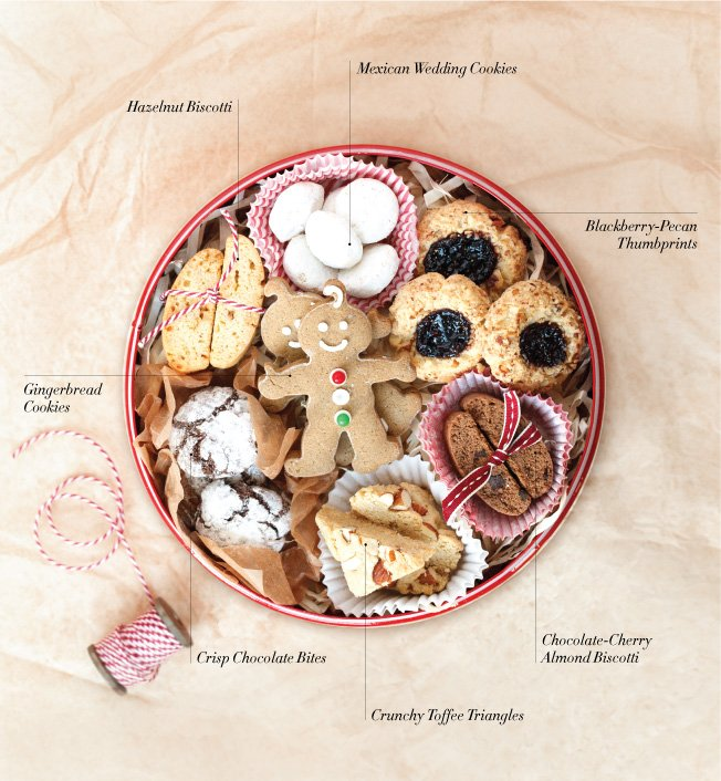 Christmas Tin Cookies.Christmas Cookie Tin Ideas Williams Sonoma Taste