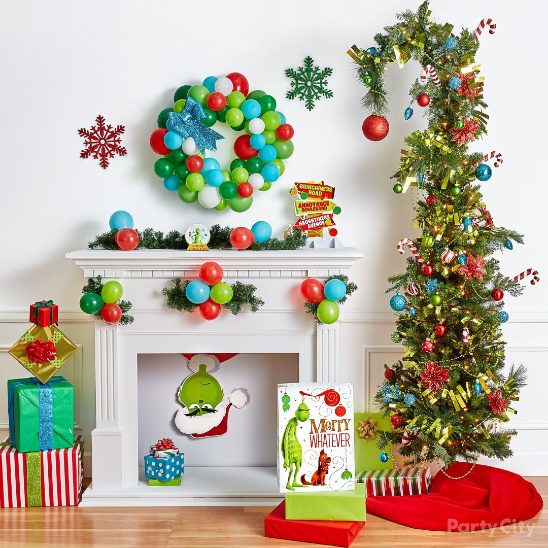 Christmas Decorations The Grinch: Grinch Christmas Decorating And Party Ideas