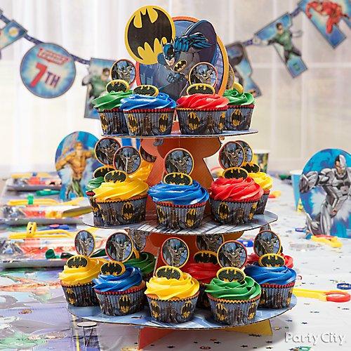 Prime Justice League Party Ideas Party City Funny Birthday Cards Online Kookostrdamsfinfo