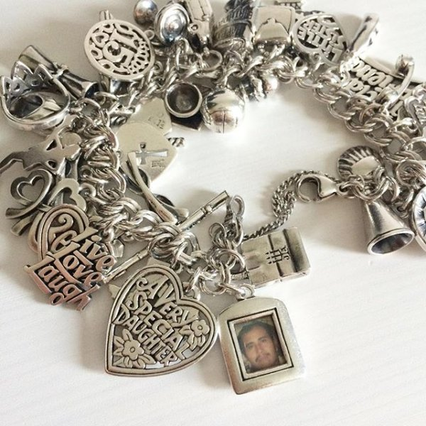592383aa1 Over 40 charms on my James Avery charm bracelet, and my favorite charm is  the